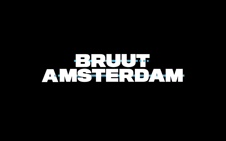 Nieuwe identiteit Bruut Amsterdam: 'Lets Power Your Story'